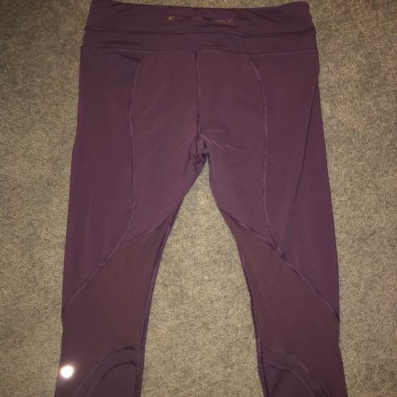 lululemon athletica Pants - Like New Lululemon Crop Leggings